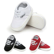 Baby Boys Girls Toddler Little Kid Antislip Canvas Shoes Infant Baby Soft Sole