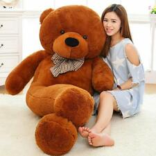 Giant Teddy Bear 160cm 5 Colors Plush Stuffed Toys Life Size Teddy Bear for Kids