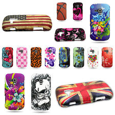 Plastic Snap On Rubber Phone Case For Samsung Galaxy Amp Unique Design Cover