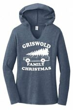 Griswold Family Christmas Funny Ladies Hoodie T-Shirt Xmas Holiday Gift Movie