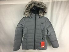 NEW THE NORTH FACE GOTHAM JACKET GREY HEATHER WOMENS JACKET 550 FILL DOWN S-XL