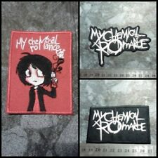 MY CHEMICAL ROMANCE Sew Iron On Patch Rock Band Heavy Metal Logo Embroidered.