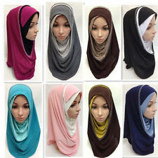 Al Amira Hijab PULL ON READY JERSEY One Piece Stretch Muslim Scarf