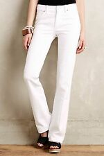 NWT MiH JEANS LONDON MID-RISE BOOTCUT WHITE JEANS 27, 32