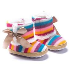 Baby Girl Winter Warm Shoes Comfortable Sole Snow Boots Crib Shoes Toddler Boots