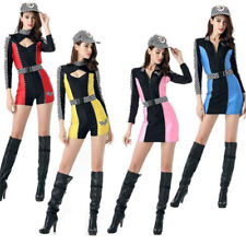 Sexy Miss Indy Super Car Racer Racing Sport Driver Grid Girl Fancy Costume