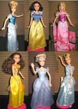 Disney Princess Cinderella Snow White Sleeping Beauty Aurora & the Beast Barbie