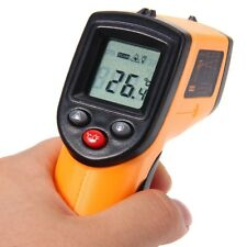 Infrared Thermometer Non-contact Temperature Tester LCD Display IR Laser Point