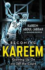BECOMING KAREEM - ABDUL-JABBAR, KAREEM/ OBSTFELD, RAYMOND - NEW BOOK