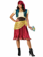 Gypsy Fortune Teller Tarot Halloween Women Costume