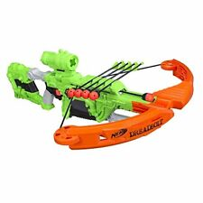Nerf Zombie Strike Dreadbolt Crossbow Fires Arrows Bow Arms 5 Arrows & Scope NEW