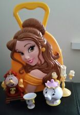 BNWT Disney Princess Belle Beauty and the Beast  carry case and figures