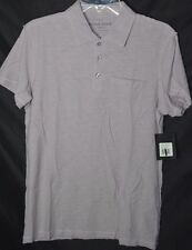 NEW $60 State Vintage Apparel Rogue Wash Polo Lavender Nordstrom Pima Cotton
