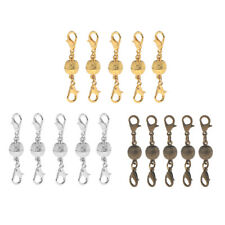 5pcs Shiny 8mm Lobster Magnetic Clasps Necklace Findings Jewelry Connectors