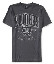 NWT MENS NFL RAIDERS SHORT SLEEVE GRAPHIC T SHIRT S  M L   AEROPOSTALE