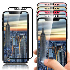 For iPhone X Screen Protector 9H Hardness Full Coverage Tempered Glass Film DEAL