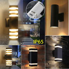 6/7/9/35W Waterproof Outdoor Exterior Up&Down Wall Light LED GU10 Halogen Alley
