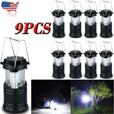 30LED Portable Outdoor Camping Lantern Bivouac Hiking Night Fishing Light Lamp