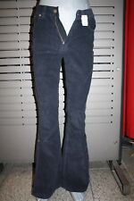 Freeman T.Porter Corduroy Jeans favofold Black Blue New Size 28 5320/1173