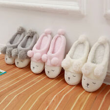 Winter warm slipper Fleece Warm Casual Shoes cute Sheep Soft Indoor Home Slipper