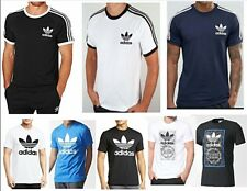 Adidas Original Mens California Trefoil Cotton Crew Neck Short Sleeve TShirts
