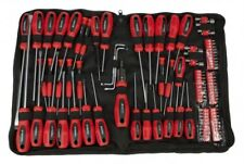 Screwdriver Set With Pouch 100 Pieces Magnetic Tips Professional Hand Tools New