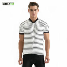 Quick Dry Short Sleeve Cycling Jersey Mens Breathable Outdoor Sports Bike Shirt