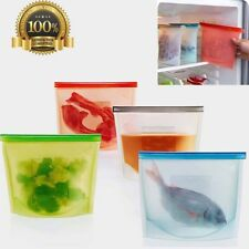 Cooking Fresh Silicone Tool Kitchen Sealing Storage Eco-Friendly Bag Home Food