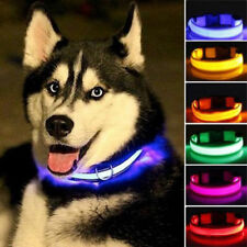 Fascinating LED Flashing Collar for Pets Dogs Cats Night Safety Light Luminous