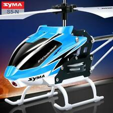 SYMA 3CH Mini RC Helicopter With Gyroscope Remote Control Kids Fun Toys 2 Colors