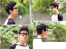 Hot Mens Male Wig Handsome Vogue Sexy Korean Boys Short Hair Wigs Cosplay+Gift