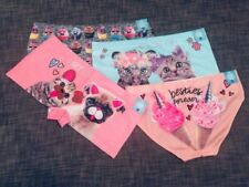 NWT Justice girls OH SO SOFT underwear 8-10 12-14 Pets Cupcakes GREAT GIFT