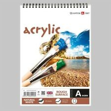 Acrylic Rough Surface Pad Drawing Artist Paper on Spiral Book - 200gsm