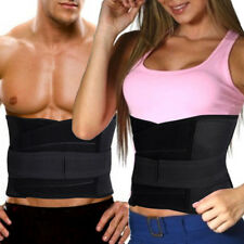 Magnetic Heat Waist Lumber Lower Back Support Therapy Pain ReliefBrace Belt US