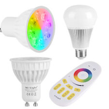 MiLight Wireless 2.4G RGBW E27 GU10 Dimmable Smart Led Light Bulb Lamp Remote TP