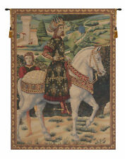 """Melchior French Vintage Woven Home Decor Art Fine Wall Hanging Tapestry 38 x 28"""""""