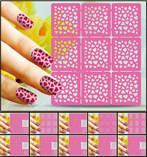 Fashion Nail Art Transfer Stickers Manicure Tips Decal DIY Decorations Nail Tool