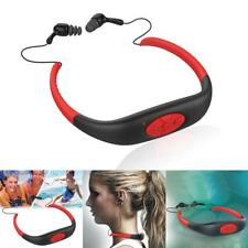 8GB Waterproof For Swimming Surfing Diving Sport Headset MP3 Player FM Radio LK