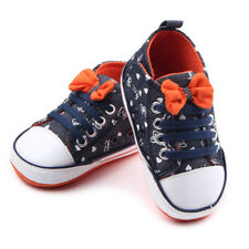 Toddler Canvas Shoes Casual Shoes Baby Boys Sneakers Crib Prewalker