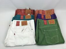 NEW LEVIS levi's 569 JEAN SHORTS LOOSE STRAIGHT SZ 38 NWT PICK COLOR