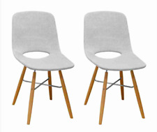 Morza Mid Century Modern Dining Chairs Set of 2 Accent Chairs