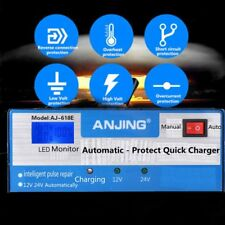 Automatic Intelligent Car Battery Charger 130/250V 12/24V Lead Acid Pulse Repair