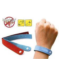 10 PCS Anti Mosquito Insect Pest Bugs Repellent Repeller Wrist Band Bracelet TH