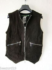 *NWT* PAUL HARNDEN SHOEMAKERS LEATHER JERKIN WOMENS GILET VEST JACKET (XS, S)