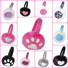 Kids Winter Ear Muffs Ear Warmers Girls Winter Accessories Plush Warm Soft