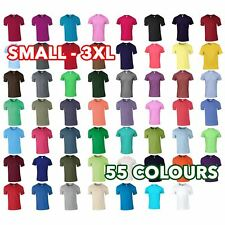 Mens Womens Unisex Softstyle® adult Pre-shrunk ringspun cotton t-shirt lot