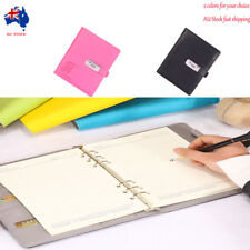 Diary Journals Notebook Travel Book A5 with Code Lock Secret Diary AU Fast Ship