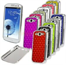 Luxury Bling Chrome Design Diamond Case Cover For Samsung Galaxy S3 SIII i9300