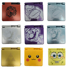 Gameboy Advance GBA SP Full Shell Case Replacement Nintendo Pokemon Zelda Mario