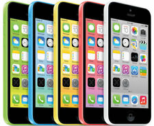 "4.0"" Apple iPhone 5C 16GB/32GB iOS 8MP GSM AT&T Unlocked Smartphone"